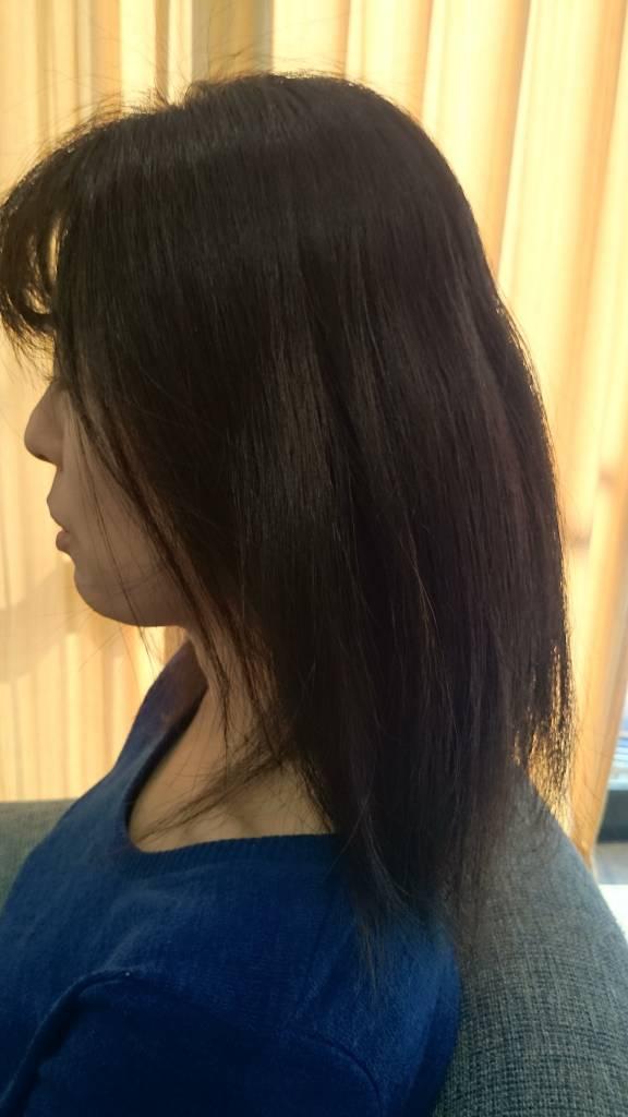 髪の毛が硬い、剛毛の髪質