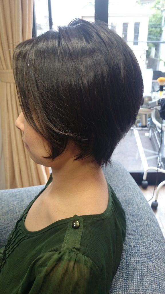 宇多田ヒカルの髪型ショート