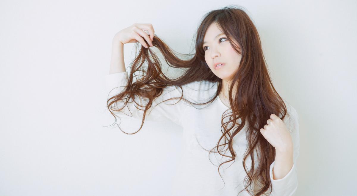 髪が絡まる