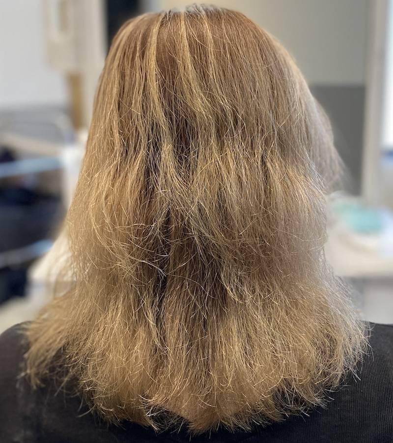 パーマ失敗 強くかかりすぎておばさんみたいな髪型例